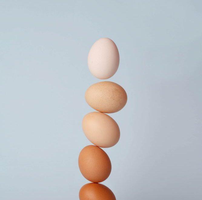 Egg er en meget god kilde til protein